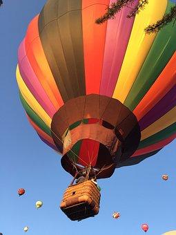 Balloon, Festival, Air, Balloon Hot Ari