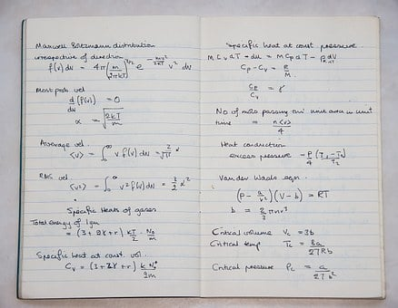 School, Book, Science, Physics, Maths, Formula