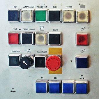 Button, Press, Knob, Power, Push, Finger, Technology