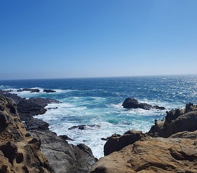 California, Caliph, Beach, Mar, Ocean, Beira Mar