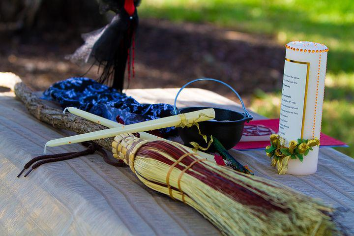 Wedding, Wiccan, Ceremony, Celtic