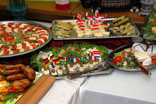 Cold Buffet, Eat, Food, Delicious, Starter