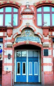 Building, Hamburg, Fish Market, Historically
