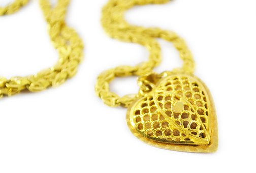 Gold, Chain, Pendent, Gold Pendent, Gold Chain, Fashion