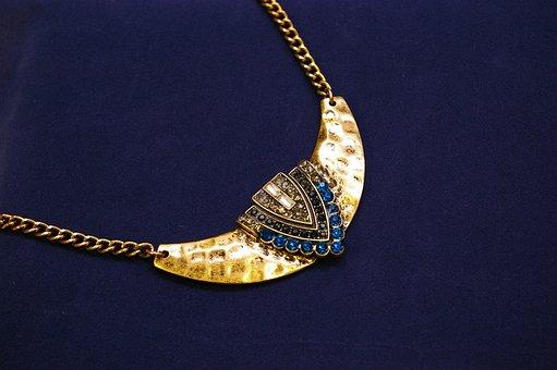 Jewellery, Jewel, Trailers, Oriental, Blue, Gold