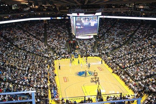 Basketball, Stadium, Golden State Warriors, Oakland