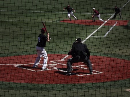Baseball, Sports, Field, Plate, Home, Park, Batter-up