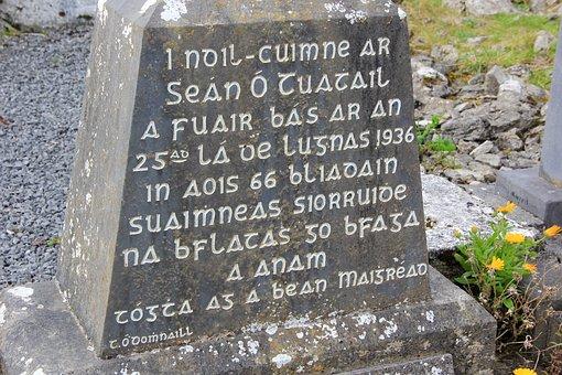 Gaelic, Ireland, Irish, Celtic, Culture, Stone