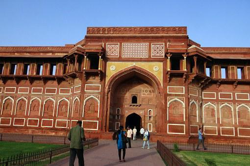 Agra Fort, Unesco Heritage, Jahangir Mahal, Entrance