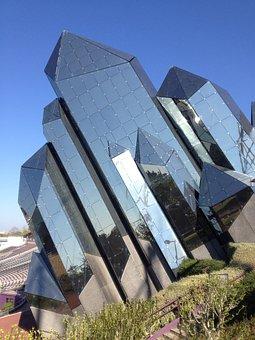 Futuroscope, Mirror, Amusement Park, Modern