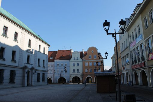 Gliwice, The Market, The Old Town, Poland, Monuments