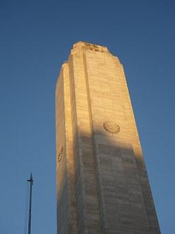 National Flag Memorial, Argentina, Rosario, America