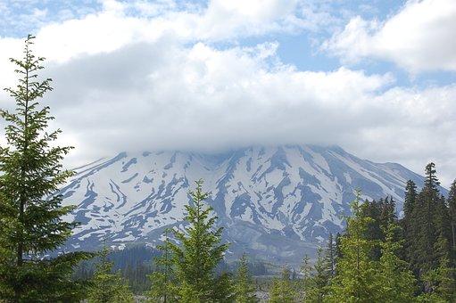 Mount St Helens, Northwest, Washington, Pacific