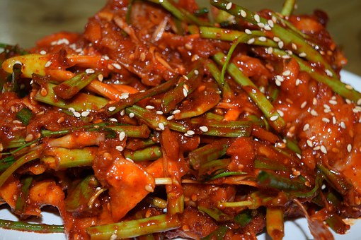 Seasoned Golbaengyi, Pepper, Acridity, Red Color