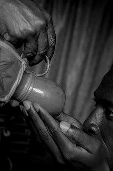 Calabash, Ritual, African, Drink, Water, Thirst