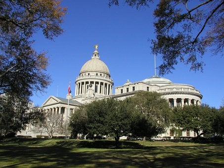Mississippi, State, Capital, Building, States