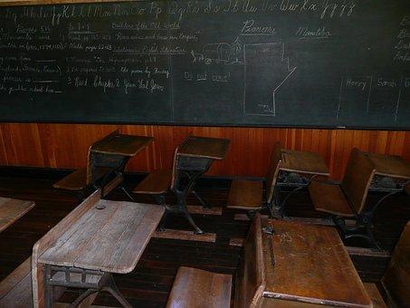 Blackboard, Classroom, Steinbach