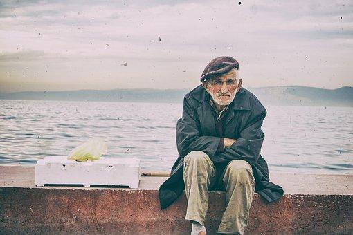 Analog Film, Old Look, Old, Photo, Man, Old Man, Street