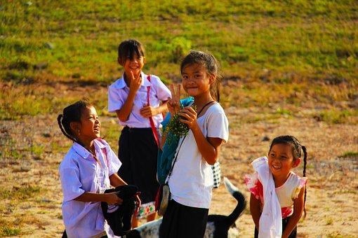 School Kids, Back To School, Children, Happiness, Pupil