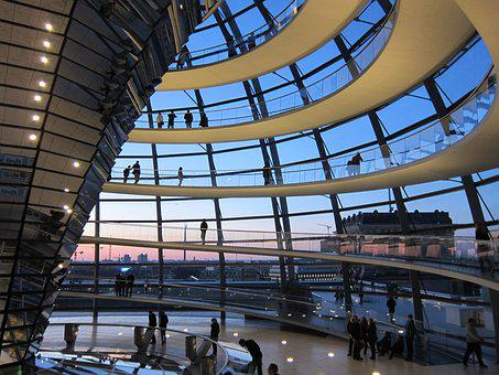 Reichstag, Berlin, Germany, Dome Parliament