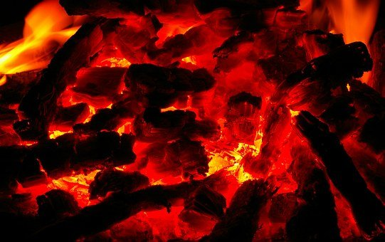 Fire Bowl, Fire, Flame, Burn, Hot, Blaze, Garden, Grill