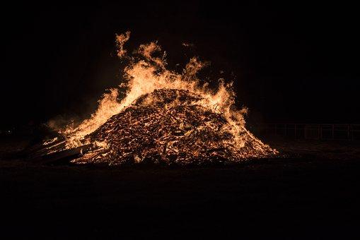 Fireworks, Bonfire Night, Guy Fawkes, Embers, Fire