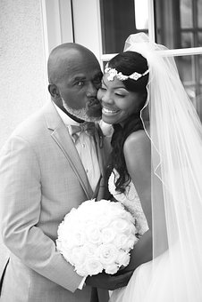 Wedding, Black Love, Bride, Groom, Happy, Just Married