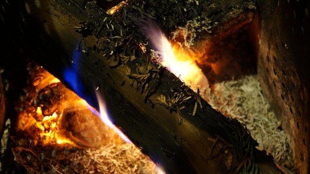 Fire, Hot, Flame, Burn, Embers, Heat, Glowing