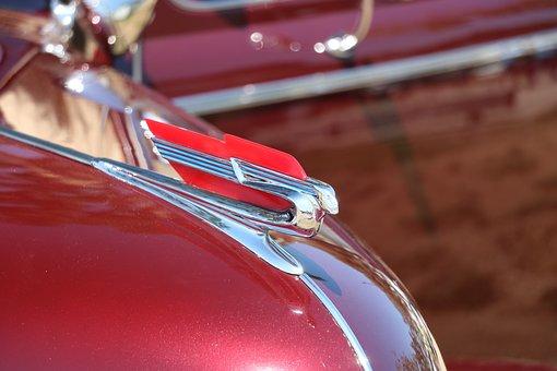 Cadillac, Flying Goddess, Hood, Ornament, Car, Vintage