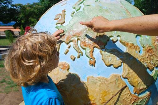 Teaching, Child, World, Geography, Children Learning