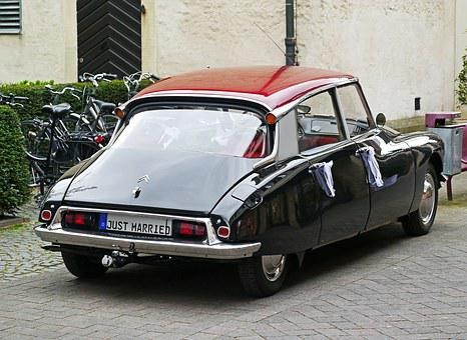Citroen, Ds19, Wedding Car, Car Rental, Goddess, Pkw