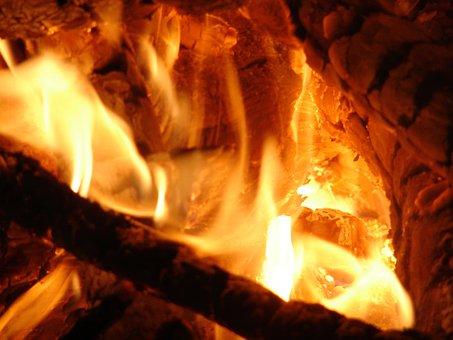 Fire, Glow, Warm, Autumn, Fall, Heat, Hot, Coals