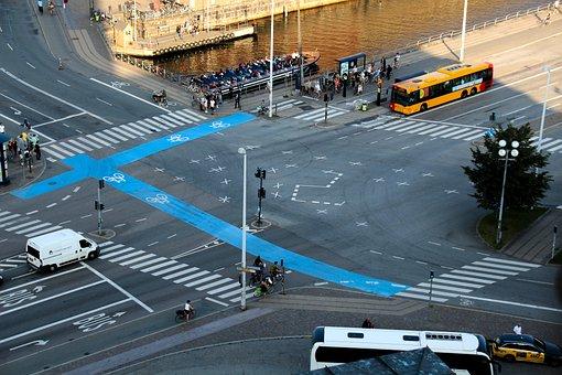 Junction, Traffic, Crosswalk, Auto, Right Of Way