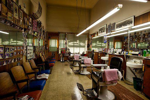 Barbershop, Barber, Salon, Haircut, Style, Cutting