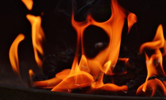 Flame, Embers, Spirit, Flame Spirit, Fire, Hot, Burn