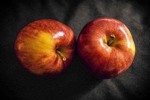 Apples, Red Apples, Food, Fruit, Fruit Season, Red