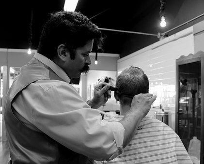 Haircut, Barber, Hair, Salon, Barber Shop, Scissors