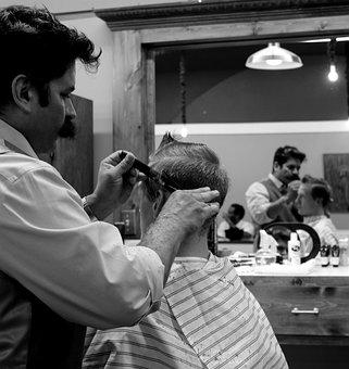 Barber, Haircut, Hair, Salon, Barber Shop, Scissors