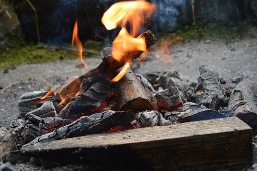 Fire, Campfire, Flame, Adventure, Burn, Heat, Embers