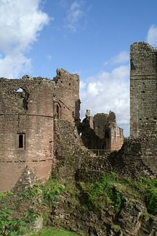 Goodrich Castle, England, Castle, Herefordshire, Norman