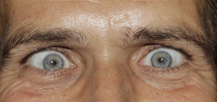 Eyes, See, Squint, Iris, Pupils, Eyelashes, Eyebrows
