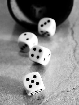 Cube, Play, Luck, Craps, Points, Numbers Eyes