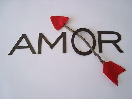 Love, Lyrics, Arrow, Wood, Metal, Design, Iron, Felt