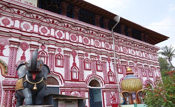 Temple, Architecture, Marikamba, Religion, Hinduism