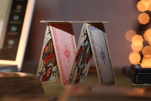 Playing Card, House Of Cards, Luck, Play, Misfortune