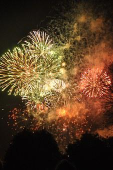Fireworks, Fire, Festival, Shooting, Light, Air, Night