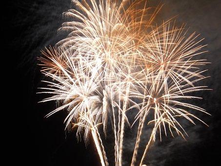 Fireworks, 14 July, Night