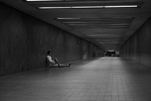 Underground, Tunnel, Solitude, Perspective, Escape