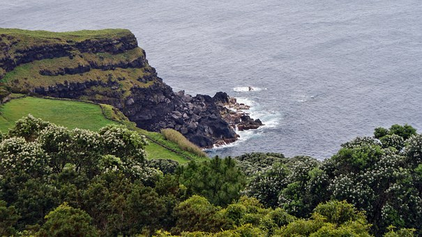 Photos At Random, Serreta, Third, Azores, Cliff