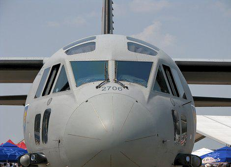 Aircraft, Airplane, Cargo, Plane, C 27j Spartan